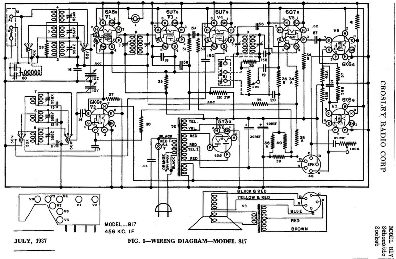 Old Radio Schematics, Old, Get Free Image About Wiring Diagram
