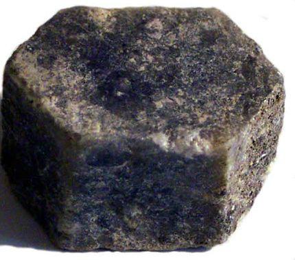 Safirkristall, Indien