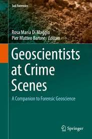 geoscientist at crime scene