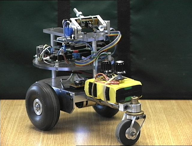 nBot a two wheel balancing robot