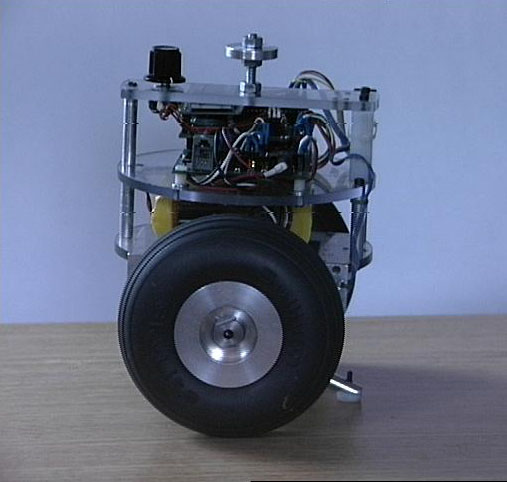 nBot a two wheel balancing robot