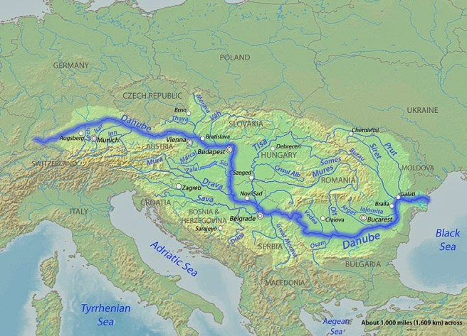Image result for danube river