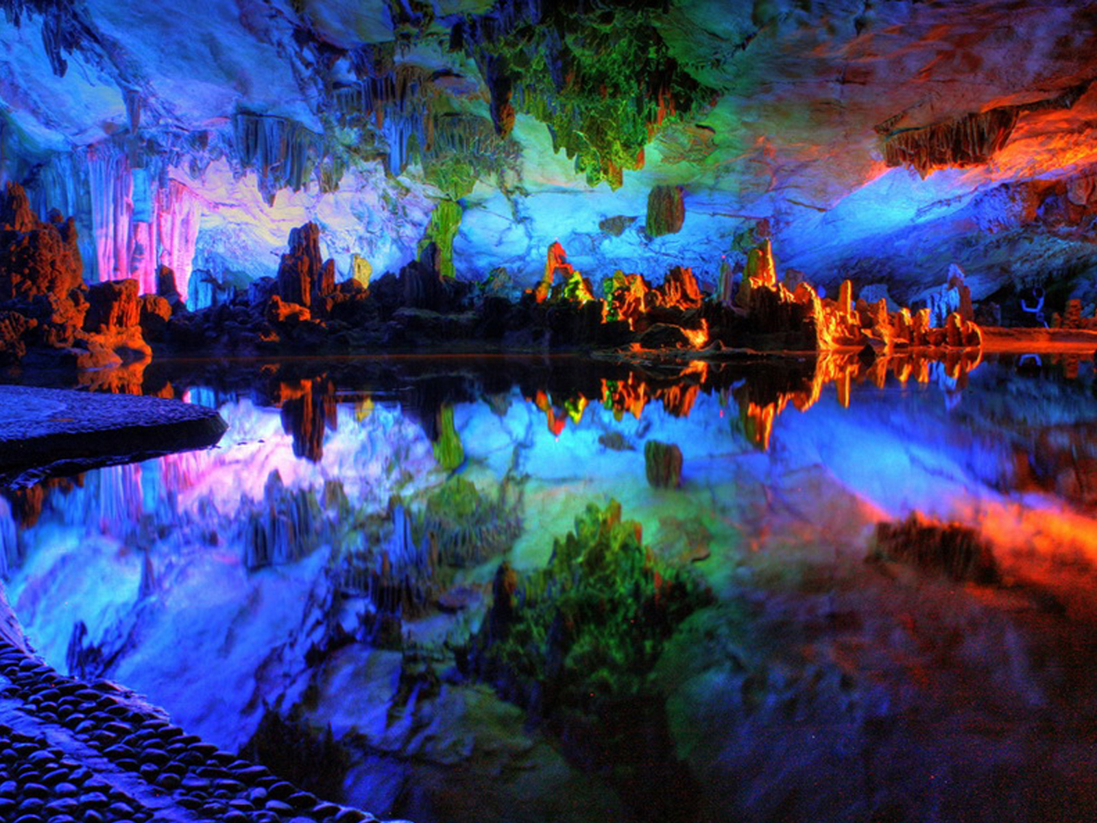 Image result for Reed Flute Cave