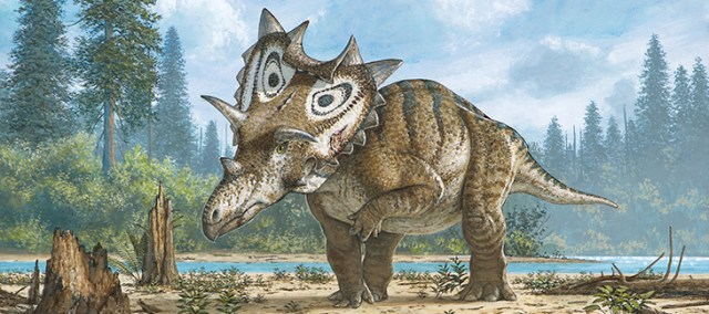New horned dinosaur-GeologyPage