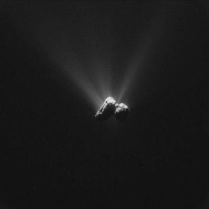 Rosetta's comet contains-GeologyPage