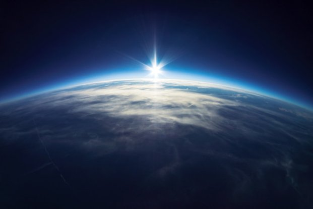 Earth from near space. Credit: © dell / Fotolia