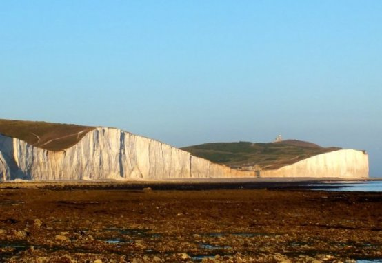 The erosion rates along Beachy Head and Seaford Head in Sussex had remained relatively stable for thousands of years. However, around 200 to 600 years ago the rates rapidly accelerated, increasing to between 22 and 32 centimetres each year. Credit: Image courtesy of Imperial College London