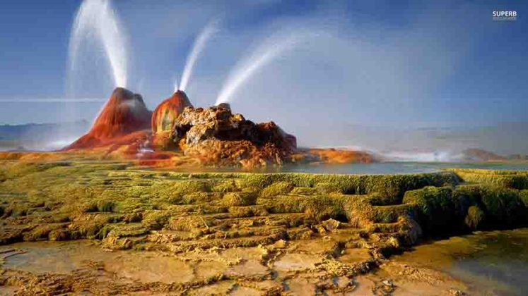 Bing Animated Wallpaper Fly Geyser Nevada Usa Geology Page