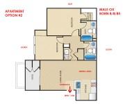 Help with choosing apartment front door direction - Flying ...