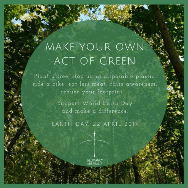 Make your own act of green