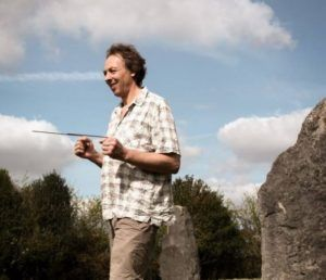 dowsing with L-rods geomancy training