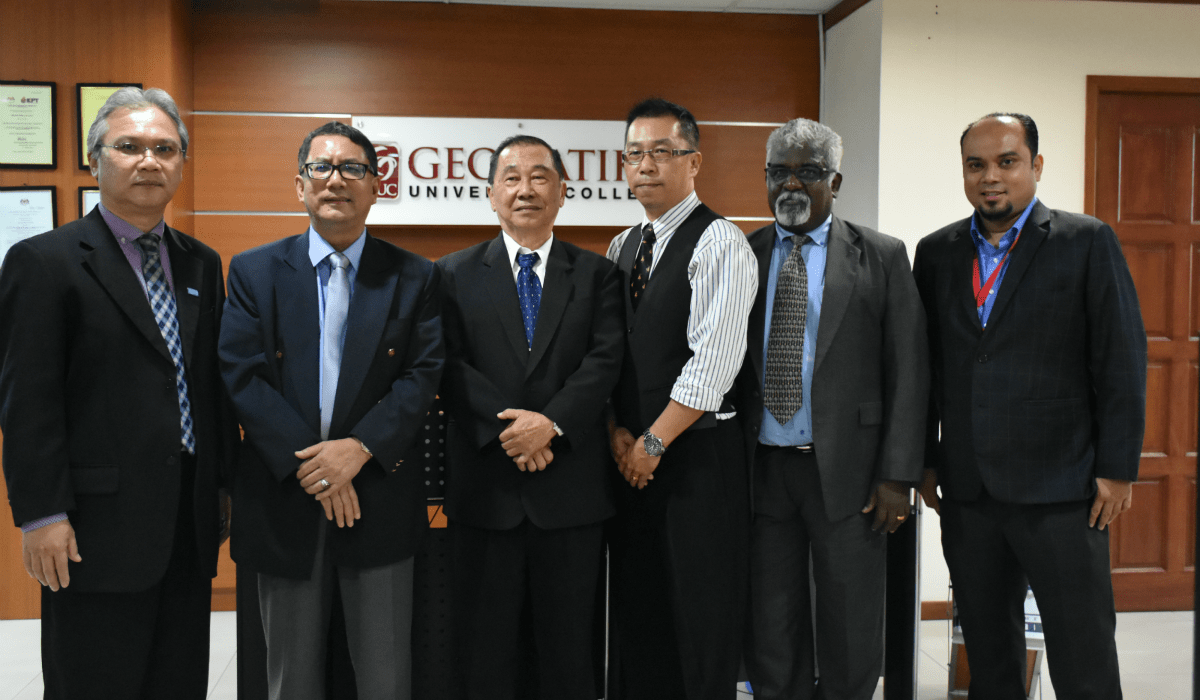 MOU Signing Ceremony with Terbang Logistics Sdn Bhd | Geomatika