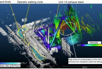 Картографираха радиацията във Фукушима