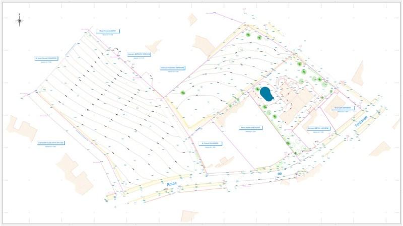 plans topographiques