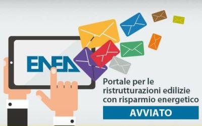Online il portale ENEA sulle ristrutturazioni