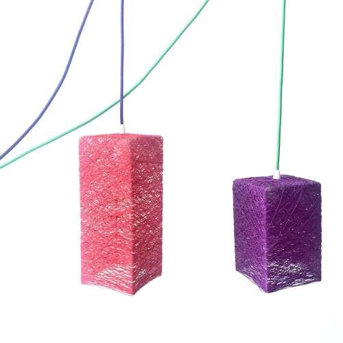 Pendant light plug in Nordic design PRISM