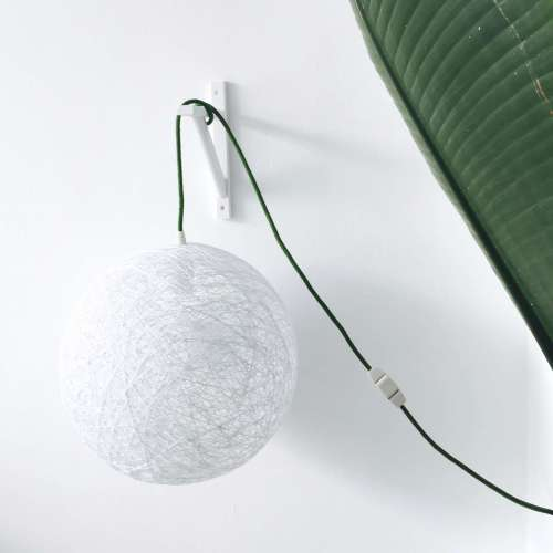 Plug in pendant light scandinavian style SPHERE