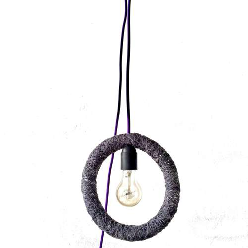 Lámpara colgante diseño industrial CIRCLE