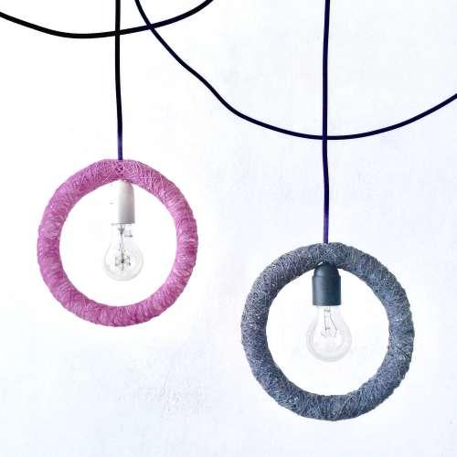 Lámpara colgante diseño industrial - CIRCLE