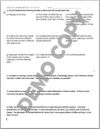 Sample Space Worksheet. Worksheets. Ratchasima Printable ...