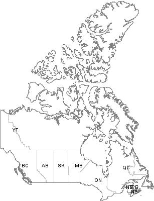 Postal Codes Newfoundland and Labrador, Canada
