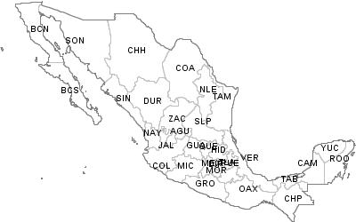 Postal Codes Chihuahua, Mexico