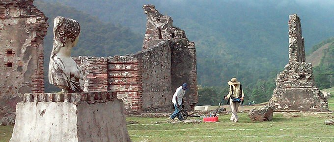Using GroundPenetrating Radar on Archaeological Sites