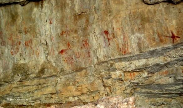 cave pictographs 1