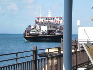 The ferry from Fajardo to Vieques is a fun ride.