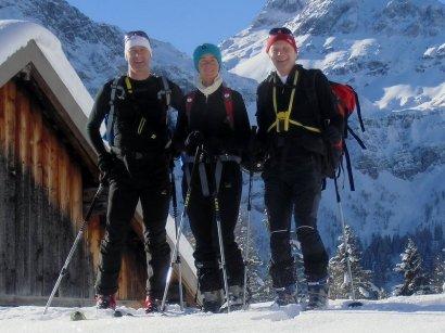 Mit Julia und Dietmar auf der Ranstlalm