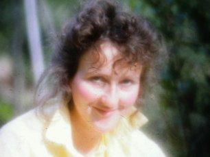 Christa auf einer gemeinsamen Reise in die Toskana (vor 27 Jahren)
