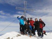 Gipfelsieg am Schafsiedel (2.4447m)