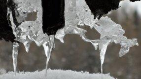 Eisiges Stilleben auf der Karteisalm
