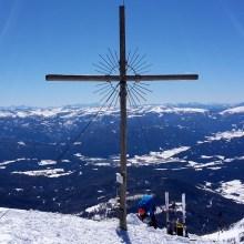 Das Gipfelkreuz am Preber
