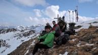 Gipflejause auf der Innerrodelgungge (2.729m)
