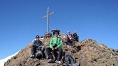Am Gipfel der Roten Wand (2.818m)