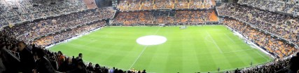 Heimspiel des FC Valencia im Estadio Mestalla