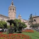 Plaza de la Reina mit dem Miguelete, von dem man eine tolle Aussivht hat
