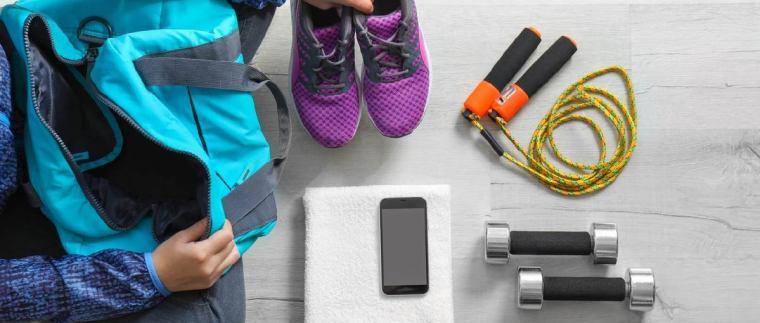 Γυμναστήριο τι να έχεις μαζί σου
