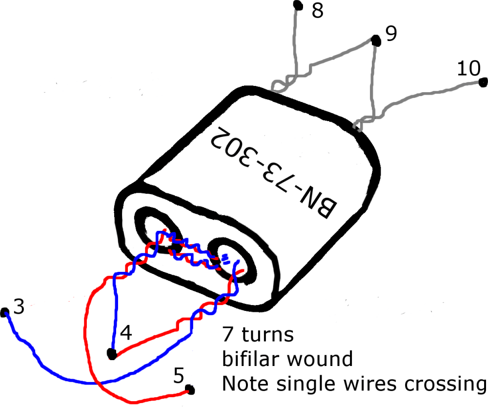 medium resolution of at this point it may be easier to mount t1 transformer to the pcb and add the two single turn windings on afterwards with a binocular core