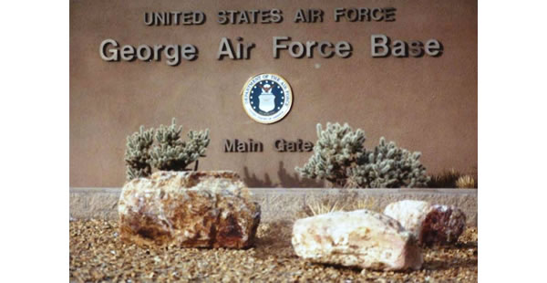 Main Gate George AFB