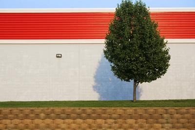 Indianapolis mall wall