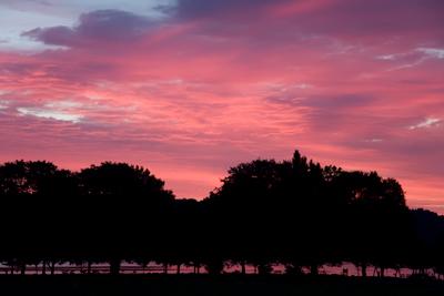 sunrise Cayuga Lake