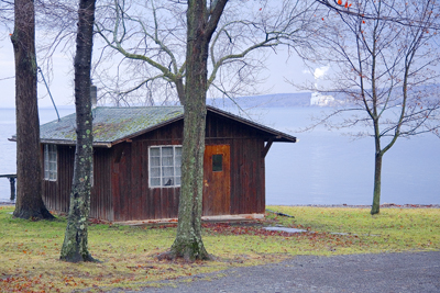 cabin at boy scout camp