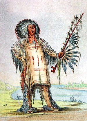 All Indian Girl Wallpaper George Catlin The Complete Works Scalping And