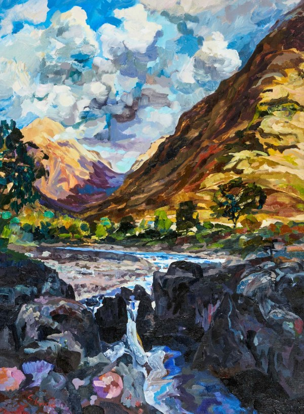 Scotland Glen Art