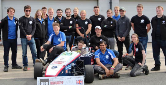 Newcastle University Racing's team