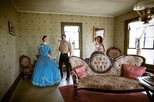 1860s Ryon Prairie Home  George Ranch Historical Park
