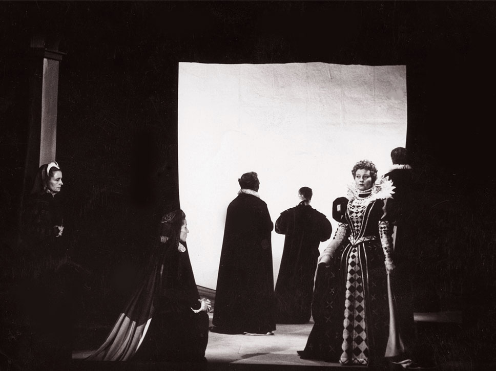 Marie Stuart, Théâtre de l'Humour, 1952