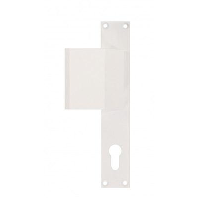 tirant sur plaque cyl pz n 226 laque blanc ral9010